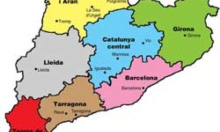 'Moguda' en el mapa polític de Catalunya