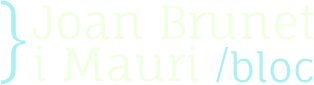 Bloc de Joan Brunet i Mauri