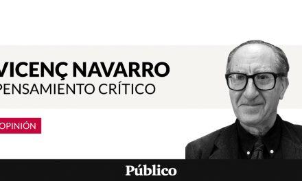 'Los problemas y errores del independentismo catalán', per Vicenç Navarro