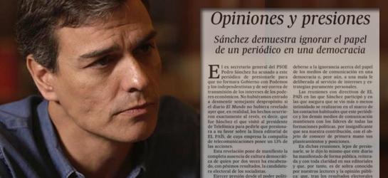 El factor Sánchez