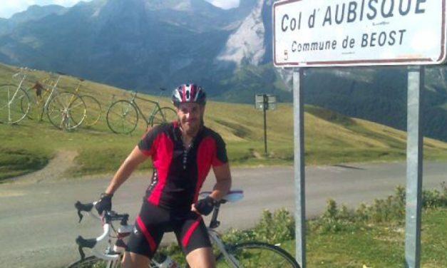 La mort d'un ciclista