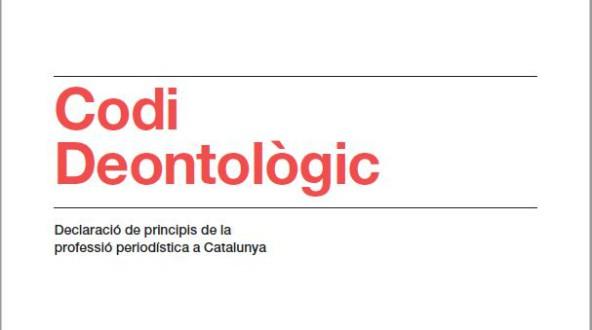 A voltes amb el Codi Deontològic dels periodistes catalans