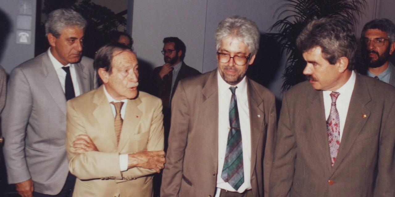 Carles Sentís, el mestre i l'amic