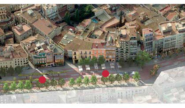 Passeig de la plaça Major